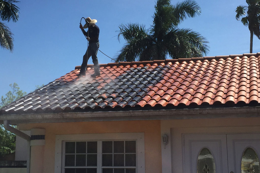 Pressure Cleaning- Sanchez Windows Cleaning Miami