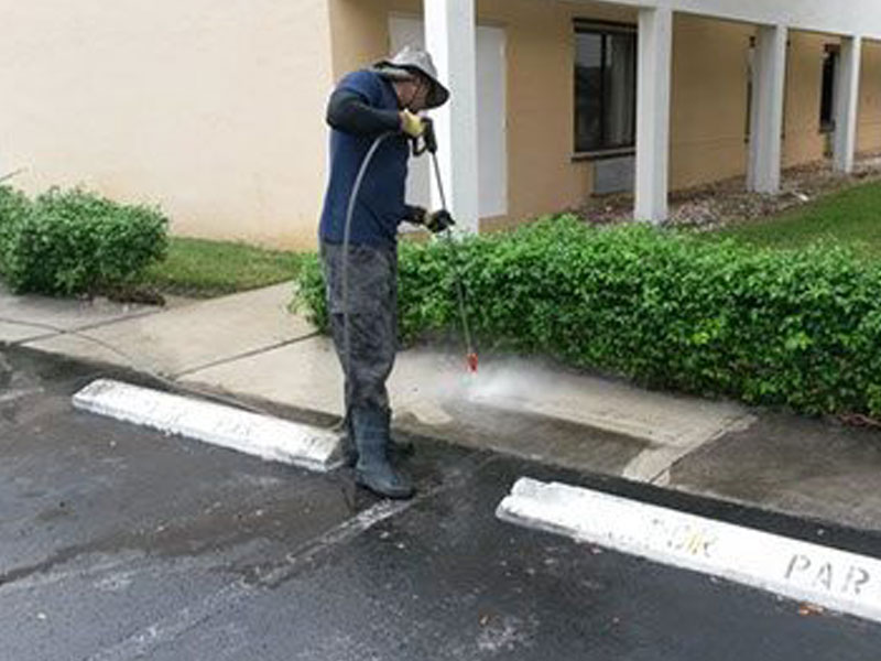 Pressure Cleaning Services - Sanchez Windows Cleaning
