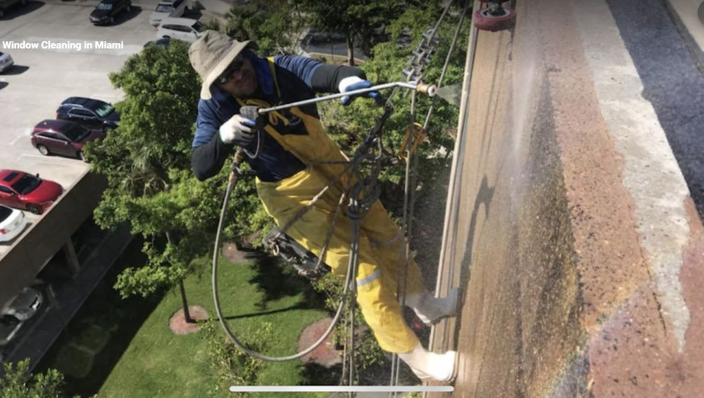 High Rise Pressure Washing